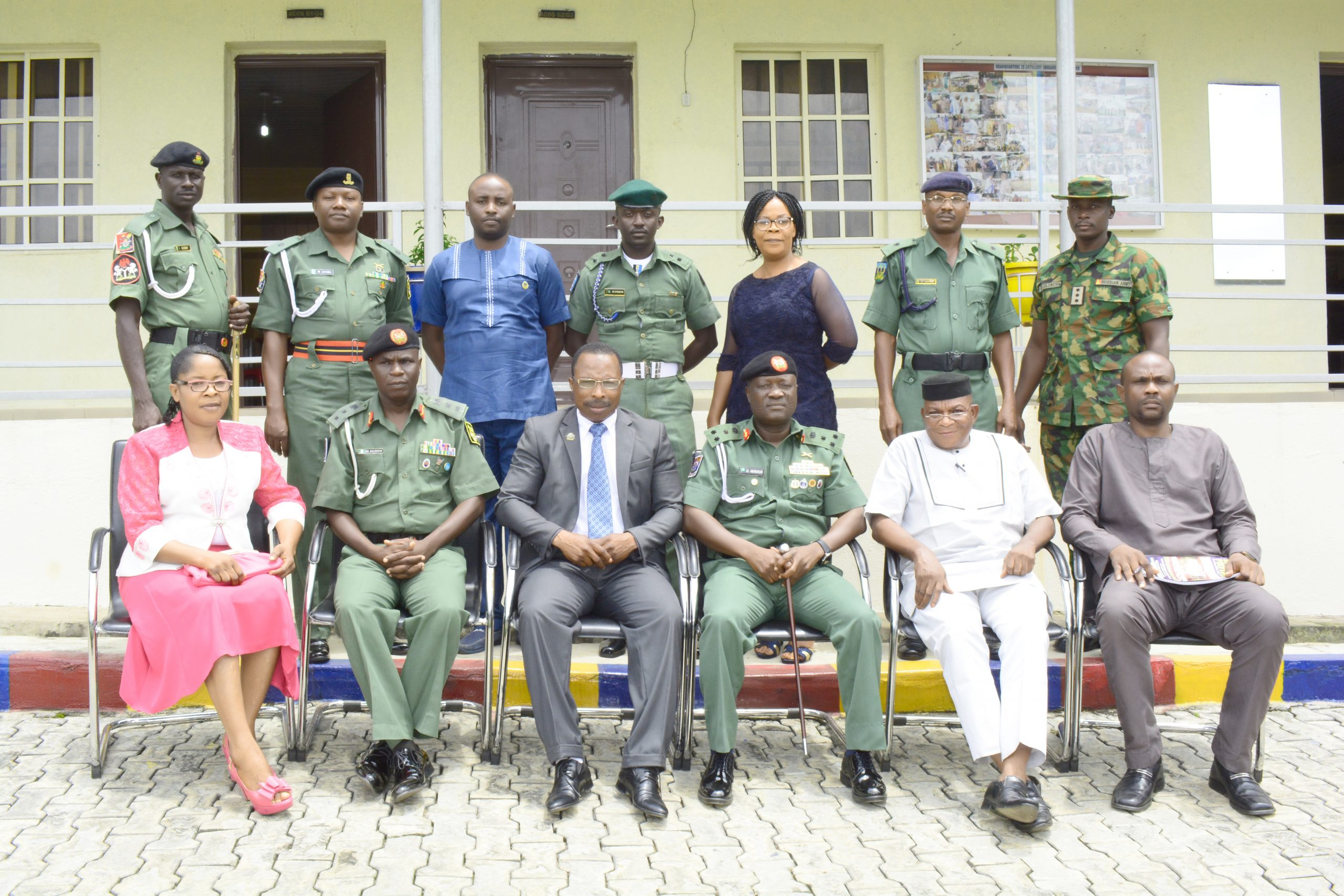 BESTPOTECH TEAM PAYS  COURTESY VISIT TO NIGERIAN ARMY
